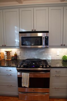 Like the William Morris Fabric ikea kitchen. THIS is how to make an ikea kitchen work. Black Kitchen Cabinets, Custom Kitchen Cabinets, Custom Kitchens, Painting Kitchen Cabinets, Black Kitchens, Ikea Kitchens, Ikea Cabinets, Condo Kitchen, Kitchen Corner
