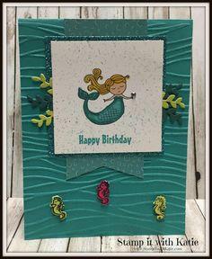 Stamp It with Katie: Sweet Mermaid