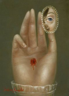 Fatima Ronquillo,   Wounded Hand w Lover's Eye