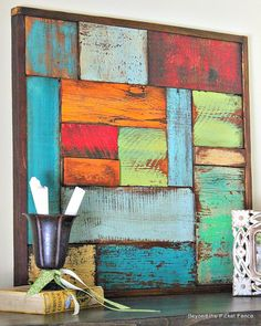 Salvaged Wood Art
