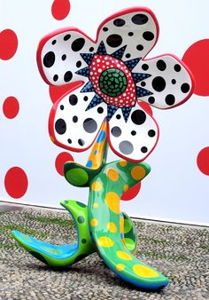 Yayoi Kusama/// I love her work. I am going to DC in a few days and will get to see her exhibit at the Hirshhorn eeeee!!