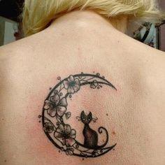 Small moon tattoo - 50  Cute Small Tattoos  <3 <3