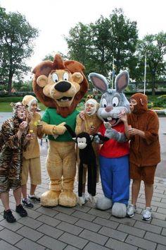 Kalle & Leo #AmusementPark #Zoo #Costumes #Sweden