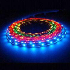 Colored Led Light Strips Adorable Smd3528 Led Strip Light With 300 Leds Reel  3528 Led灯条 Design Decoration