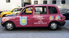 Aston Villa taxi