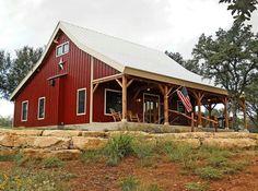 Texas barn home