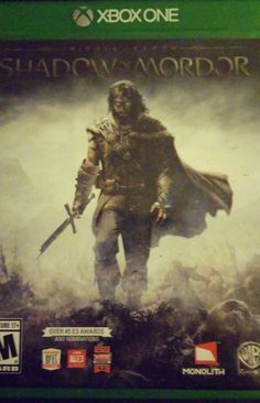 Middle Earth: Shadow of Mordor Xbox One 2014 BRAND NEW SEALED  #xboxone, #shadowofmordor, #videogame, #ebay, #middleearth
