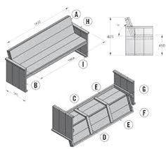 Steigerhouten meubels zelf maken tekeningen nodig? Klik hier voor gratis bouwtekeningen!