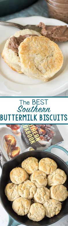 The BEST Southern Buttermilk Biscuits by Melissa's Southern Cookbook - this recipe is a keeper!
