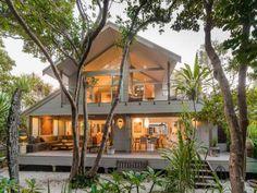 Cozy family home on the seashore