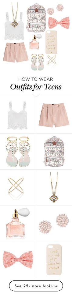 """pretty in pink"" by lmstencie3 on Polyvore"