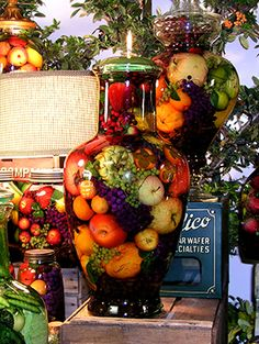 Fruit Abudance oil candles