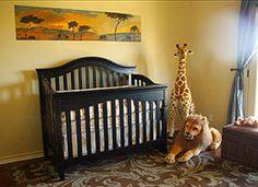 Safari theme with dark furniture :)