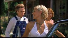 love Brittany Daniel's hair in Joe Dirt.