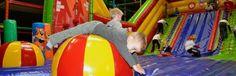 Ballorig Zutphen (ook buiten) en Nijverdal.  entree 7 euro per kind. volwassenen gratis