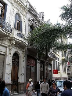 art nouveau in Montevideo, Uruguay