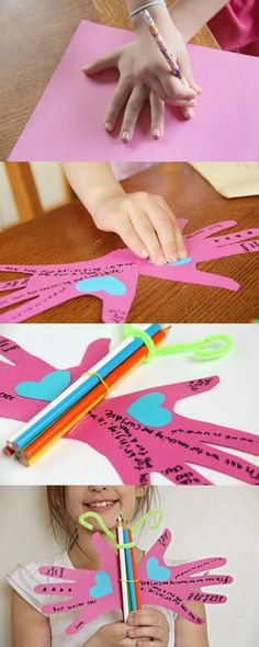 Butterfly Teacher Appreciation Craft from the Child's heart -- #ThanksTeach