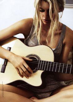 blond beach hair