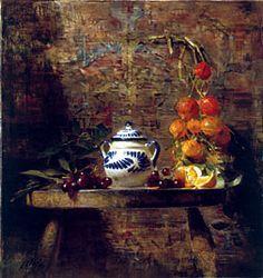 David Leffel; A Scherzo of Orange w