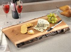 18 Cherry Wood Cheese Board by cccheeseboards on Etsy, $60.00