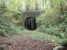 The entrance to the disused Lea railway... © anonymous cc-by-sa ...