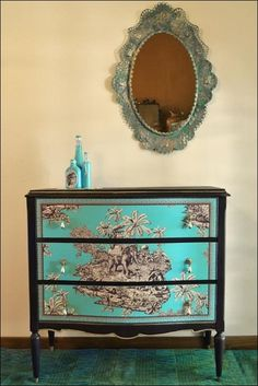 Painted and decoupaged. http://www.hometalk.com/26871898/an-exotic-chest?se=wkly-20170121&date=20170121&slg=8c5195d7426450d2203df9137a670066-1110481