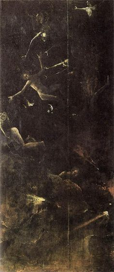 Fall of the Damned, 1500-1504Hieronymus Bosch