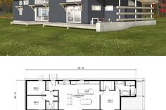 Plan #497-57 - Houseplans.com