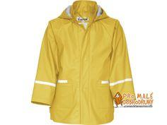 Dětská pláštěnka Playshoes Basic žlutá. Povedená pláštěnka Basic ve krásné žluté je sbalitelná do batůžku, tzn.ideální na výlety se školkou či školou.