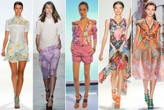 Spring 2013 Runway Trend: Soft Florals - Spring 2013's Biggest Runway Fashion Trends - StyleBistro