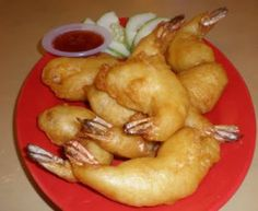 Chinese Golden Fried Prawns Recipe