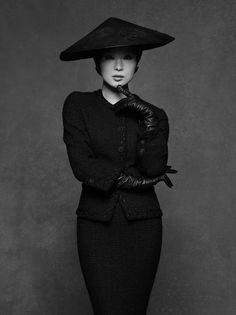 Chanel Little Black Jacket Exhibition. Ringo Sheena by Karl Lagerfeld