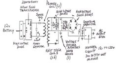 Schematic of a Don Smith Generator