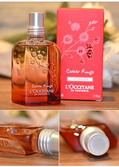 Perfume cerisier rouge L'occitane
