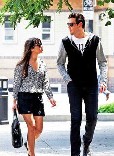 Lea Michele & Cory Monteith ♥