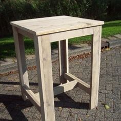 bartafel steigerhout op maat 80x80x110 hillshome Woodworking, Kitchen, Diy, Furniture, Home Decor, Garden, Blog, Ideas, Wood