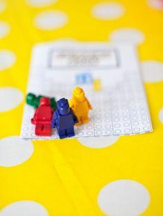 lego crayon favors