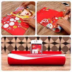 Coca-Cola FM | Magazine Amplifier | feel desain  http://www.feeldesain.com/coca-cola-fm-magazine-amplifier.html