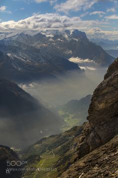 A View from Titlis by RAF_PHOTOGRAPHY