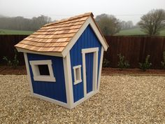 Wonky playhouse - get the plans, they are easy to make. Kids LOVE them