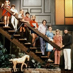 The Brady Bunch- As a kid I wanted to go to their house and play on the swing set in their backyard