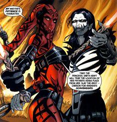 Darth Talon and Cade Skywalker   Darth Talon and Darth Nihl, the Hands of Emperor Darth Krayt