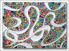 Image result for Abstract Quilling