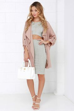 The perfect casual two - piece set...
