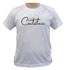 Camiseta em malha Poliviscose  com estampa em serigrafia frontal.