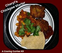 Cheryl made a Craving Curries Chickpea Curry and used as a starter Chickpea Curry, Indian Curry, Curries, Cheryl, Tandoori Chicken, Cravings, Dishes, Ethnic Recipes, Food