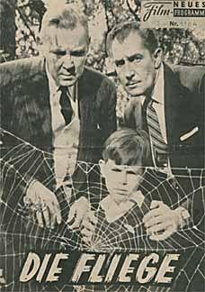 Posteritati: FLY, THE 1958 German Program (6x9)...http://blackberrycastlephotographytm.zenfolio.com/p686239116/h20b24451#h20b24451