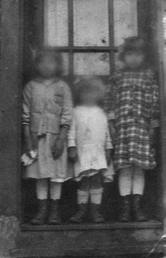 faceless ghost children | eerie | spooky | ghostly wonders | www.republicofyou.com.au