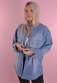 Levi's Denim Shirt GRL1295 | Port Girls | ASOS Marketplace