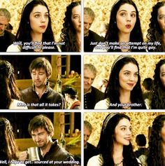 Mary and Bash ~ Reign Abc Family, Family Show, Movies Showing, Movies And Tv Shows, Bash And Mary, Isabel Tudor, Reign Quotes, Reign Tv Show, Reign Mary